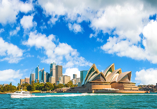 Travel from Australia