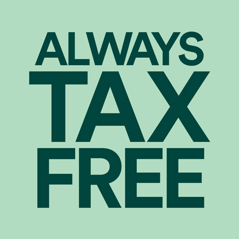 woodburn - promo - always tax free - Copy image