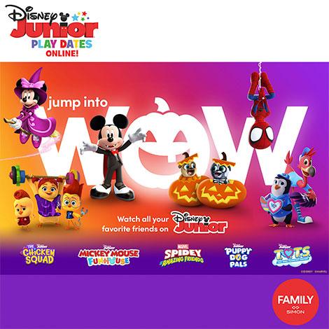multi - promo - disney virtual playdate spooky season (non-disney store centers, no coupon) image