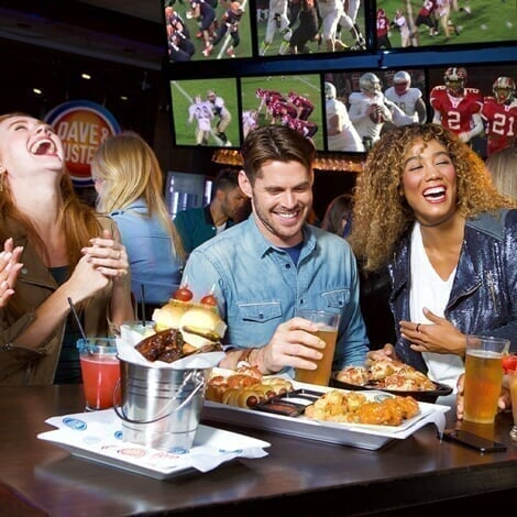 Concord Mills - Promo - Eat + Play at Dave & Buster's - Copy image