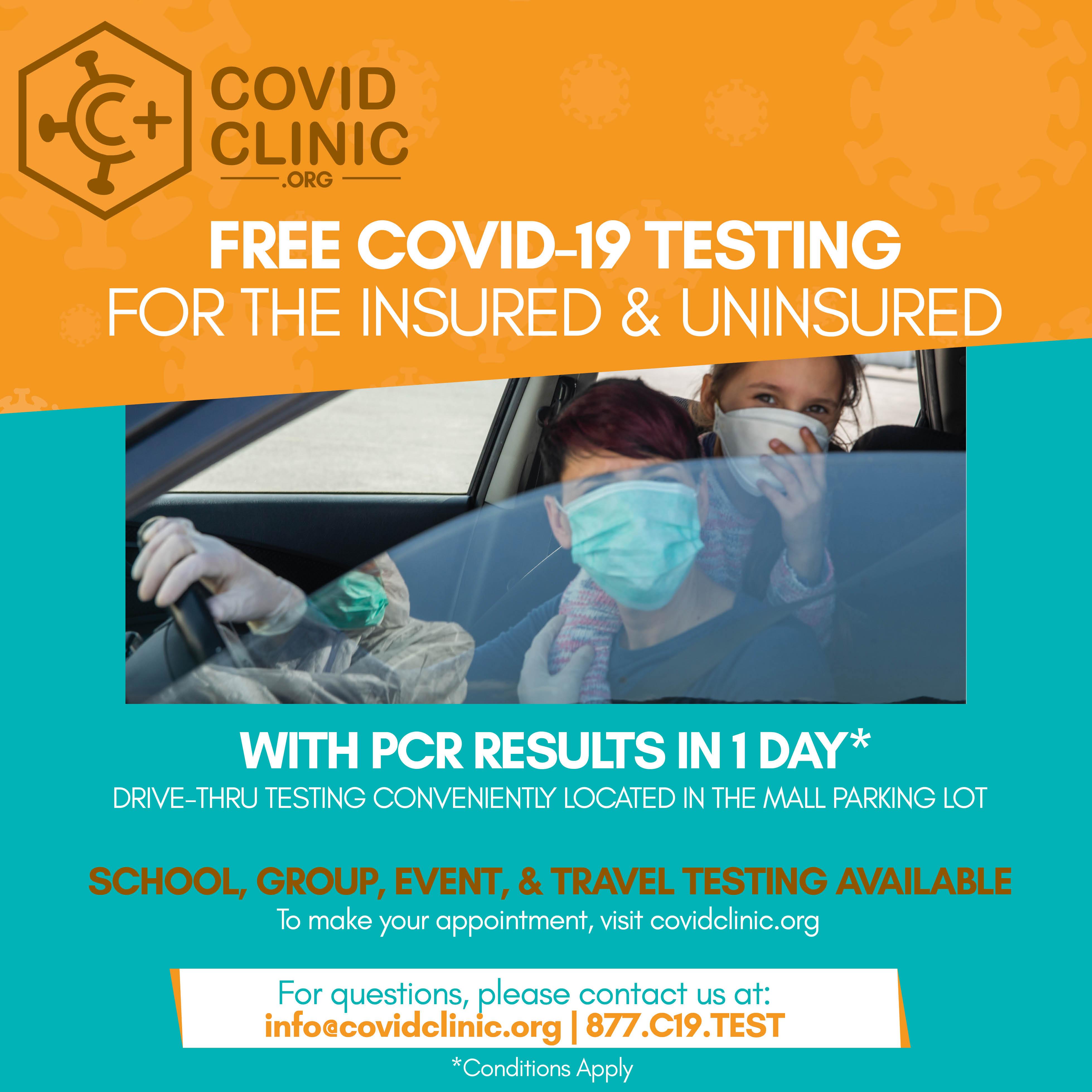 Cordova Mall - Promo - FREE COVID-19 TESTING - Copy - Copy image