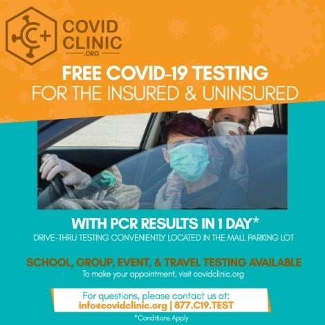 Denver PO- Promo - FREE COVID-19 TESTING image
