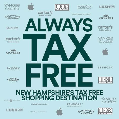 Pheasant Lane Mall - Promo Spot 1 - Always Tax Free - Copy image