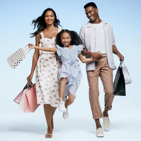 premiumoutlets.com homepage - promo spot - brands image