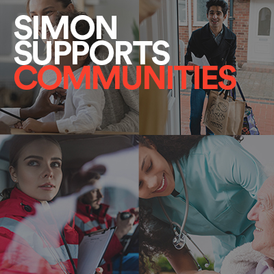simon homepage supports community - spot 1 - how we've helped during covid-19 image