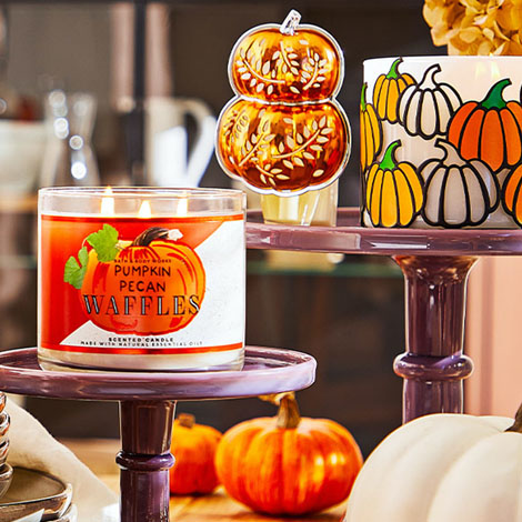 Del Amo - promo - bath and body works fall candles image