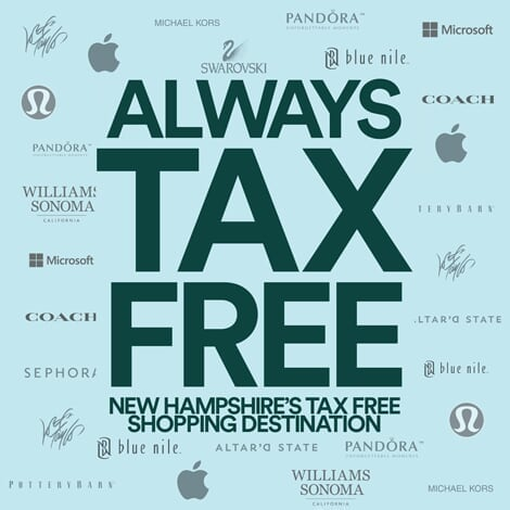 The Mall of NH - Promo Spot 1 - Always Tax Free - Copy image