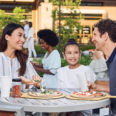 Outdoor Dining at White Oaks Mall