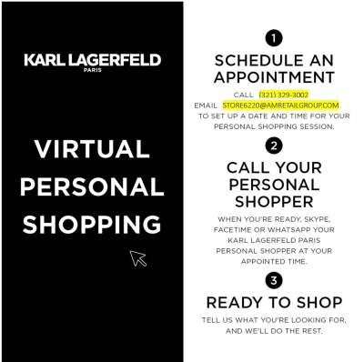 Virtual Shopping Offered