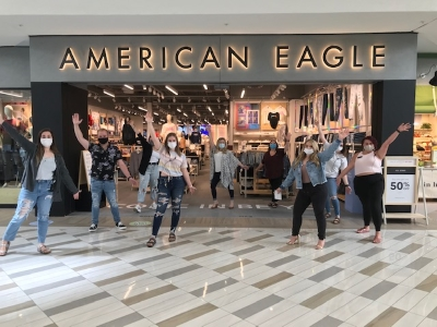 American Eagle is NOW OPEN!