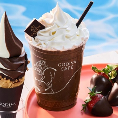 Introducing new GODIVA Handcrafted Shakes