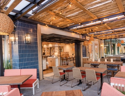 Enjoy the great outdoors on Pacific Catch's patios