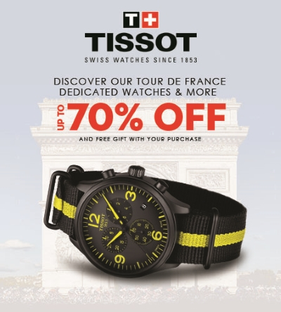 TISSOT SALE! UP TO 70% OFF!