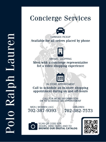Concierge Services Now Available