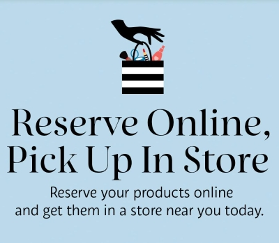 Reserve Online, Pick Up In Store
