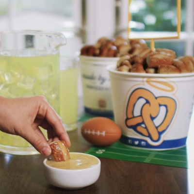 SNACK ON. GAME ON!