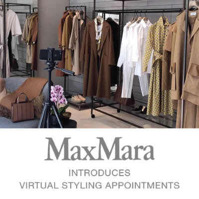 Max Mara Introduces Virtual Styling Appointments