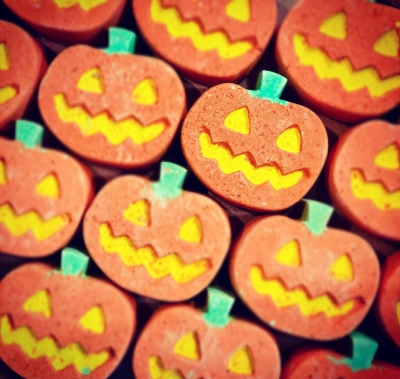 Halloween at Lush is filled with Jack-o-lanterns!