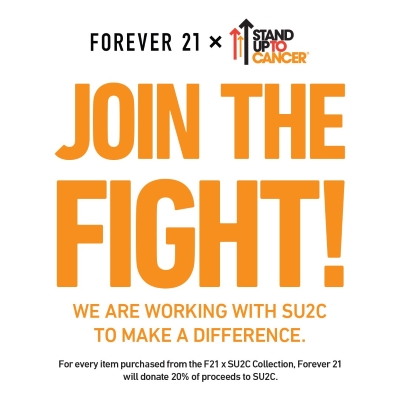 Forever 21 - Stand Up To Cancer!