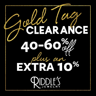Gold Tag Clearance Event!