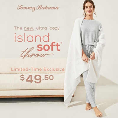 Island Soft® Throw - $49.50