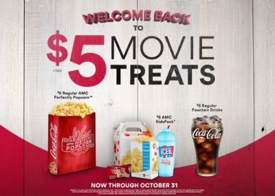 $5 Movie Treats