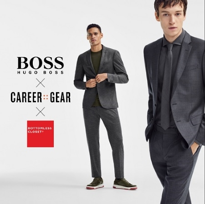 BOSS partnered with Career Gear