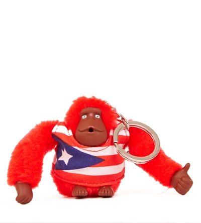 PUERTO RICO MONKEY KEYCHAIN - GIFT WITH PURCHASE