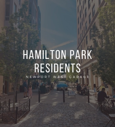 Parking for Hamilton Park Residents