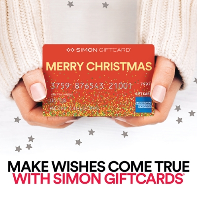 Purchase Simon Giftcards and make wishes come true