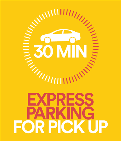 Now Available: EXPRESS PARKING