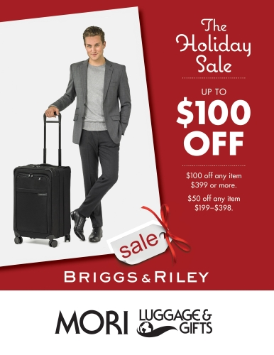 Briggs and Riley Holiday Luggage Sale