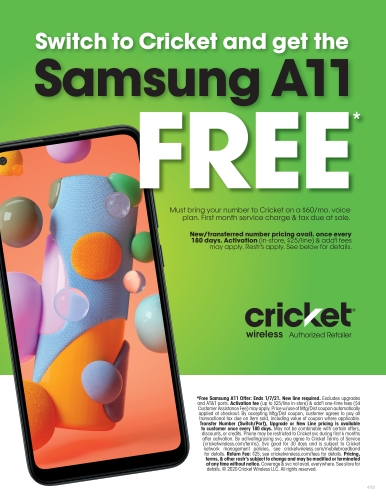 Switch to Cricket today!