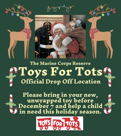 Ohio Artisan Collective Toys For Tots Drop Off