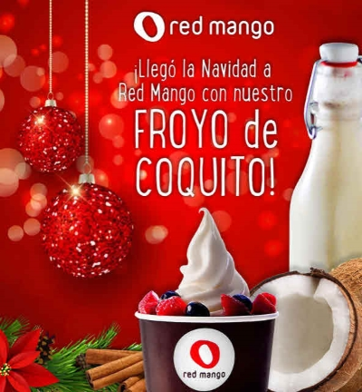 ¡Regresó el Froyo de Coquito a Red Mango!