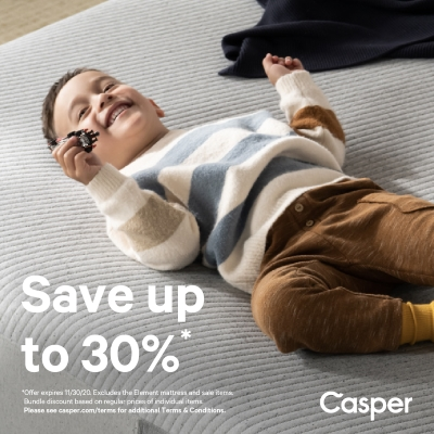 Comfortable Savings now at Casper