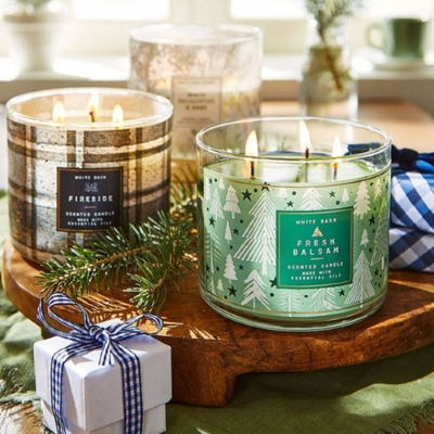 New Festive Holiday Candles