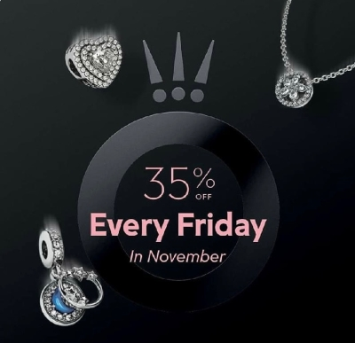 35% off Every Friday in November!