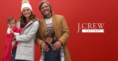 40% - 60% OFF STOREWIDE AT J.CREW FACTORY!