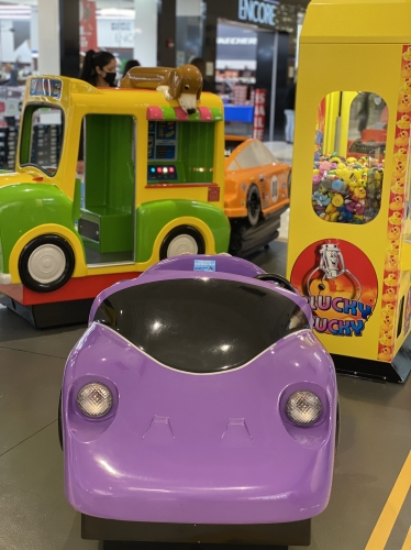 Kiddie Rides is  Back to Cape Cod Mall!