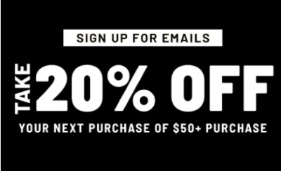 Get at 20% Coupon With Email Sign-up at Forever21