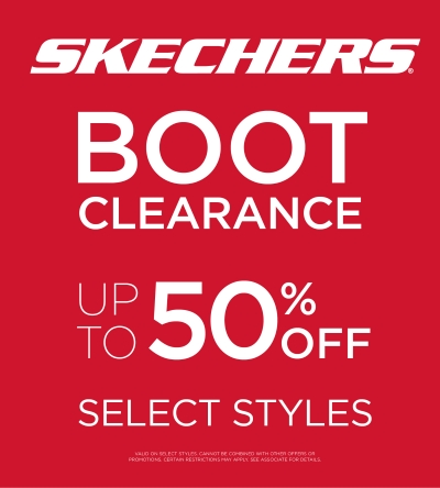 SHOP SKECHERS BOOTS UP TO 50% OFF!