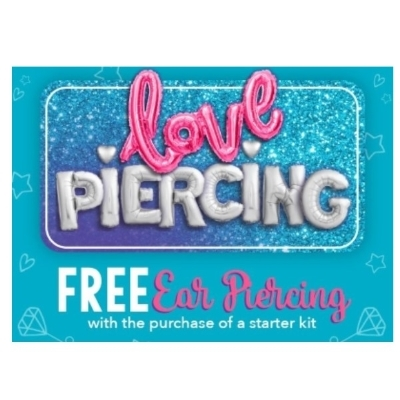 Claire's Free Ear Piercing