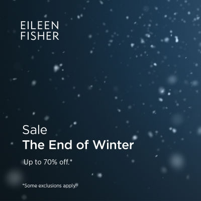 The End of Winter Sale
