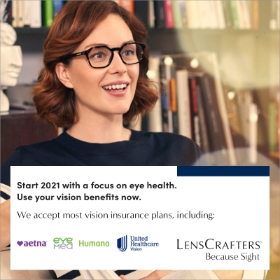 Eye Health for 2021 at LensCrafters