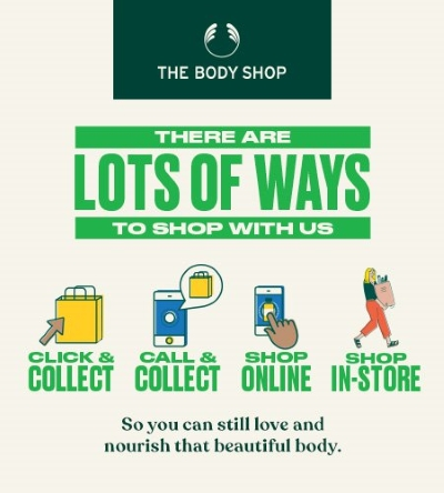 Shop with The Body Shop