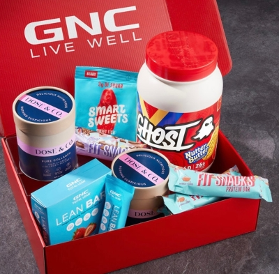 New Year Resolution? GNC has got your back!
