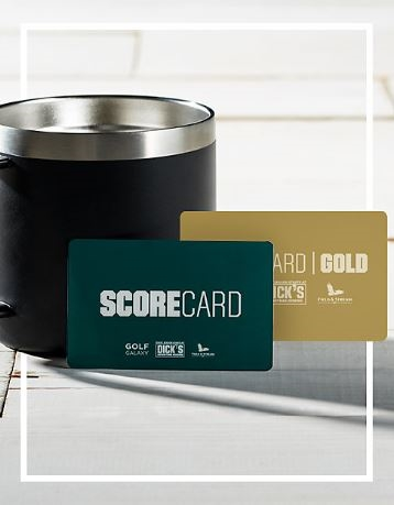 SCORECARD AND SCORE GOLD