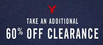 Extra 0% Off Clearance