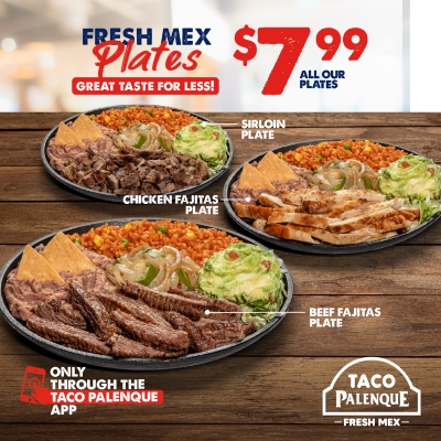 Great Taste for Less using your Taco Palenque App